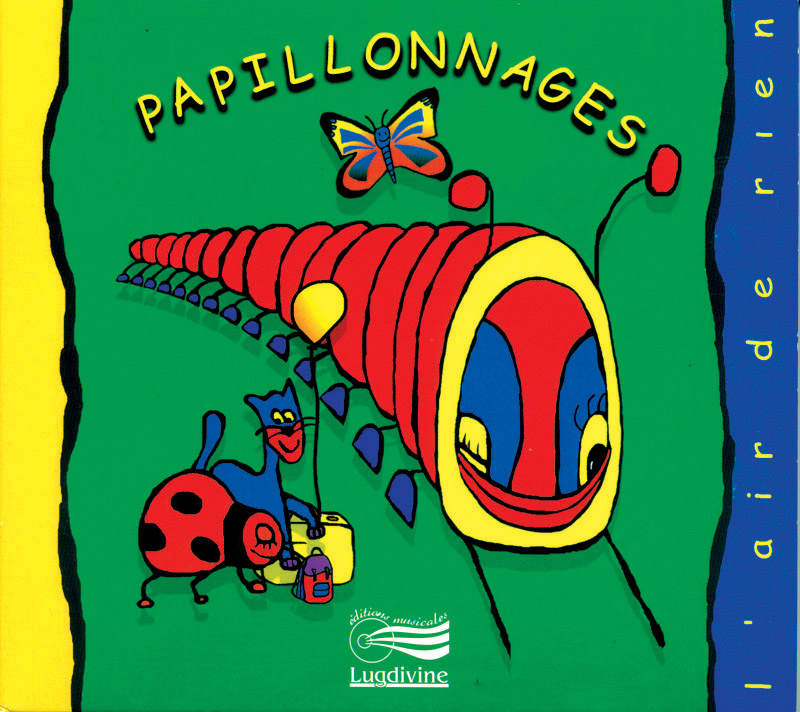 3 - Papillonnages - CD Audio