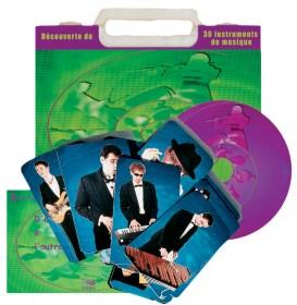 D'un instrument à l'autre  - 1 malette + 1 livret + 1 CD + 1 jeu de carte