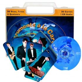 Instruments à la carte  - 1 malette + 1 livret + 1 jeu de carte + 1 CD