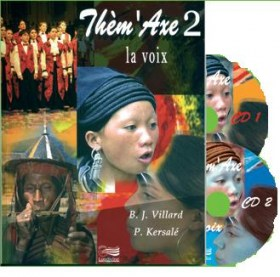 Thèm'Axe 2 : La voix - Livre + 2 CD