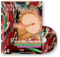 Rythmes en stock :  Les Andes - Livre + 1 CD