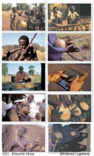 Ethno'kit Africa - 10 posters + 1 CD