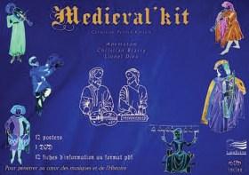 Médiéval Kit : 12 posters + 1 DVD