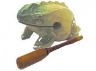 Guiro grenouille vernie moyen modèle