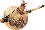 Harpe-luth 6 cordes n'goni
