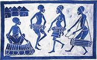 Batik Scène de danse