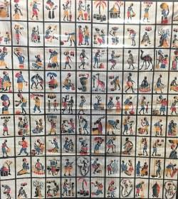 100 Batiks à découper