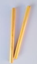 Bâtons de rythme en bois peint