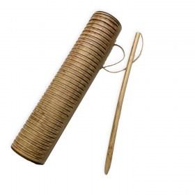 Tsikadraha (guiro - L = 21 cm)