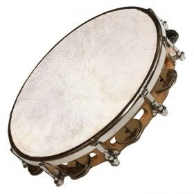 Tambourin ø 25 cm avec cymbalettes