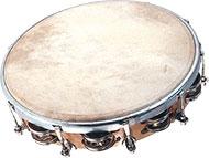 Tambourin ø 30 cm avec cymbalettes