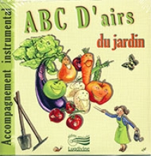 "ABC D'airs du jardin - CD ""Play-back"""