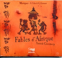 1- Fables d'Afrique - CD audio