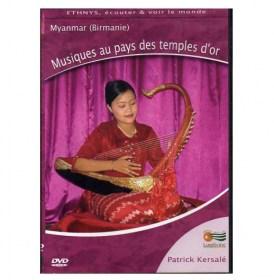DVD Musiques au pays des temples d'or