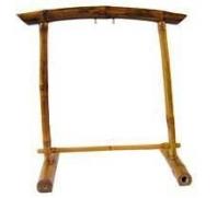 Portique en bambou pour gong ou tam-tam pour ø 70 cm