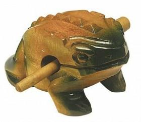 Guiro grenouille vernie grand modèle