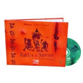1- Fables d'Afrique - Livre + 2 CD