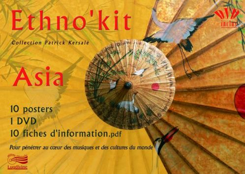 Ethno Kit Asia 10 posters + 1 DVD