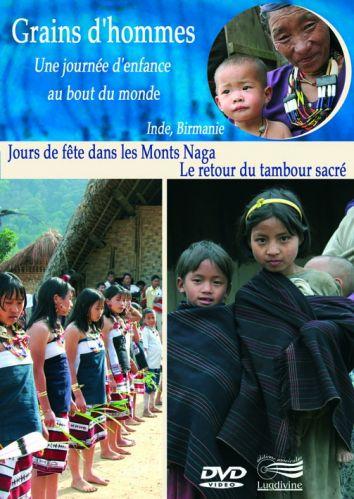 DVD Jour de fête dans les Monts Naga (Inde) & Le retour du tambour sacré (Birmanie)