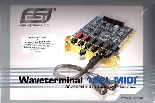 Waveterminal 192L MIDI