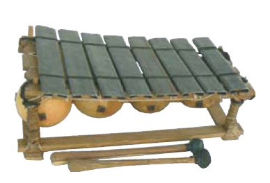 Métallofon 8 lames pentatonique