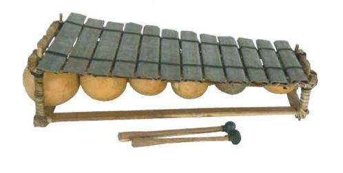 Métallofon 12 lames diatonique