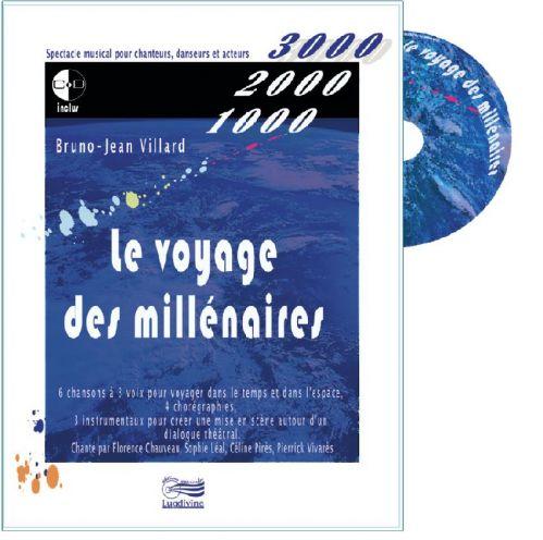 Le Voyage des Millénaires : Livre CD
