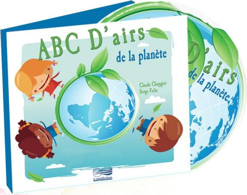 A,B,C,D'Airs de la Planète CD
