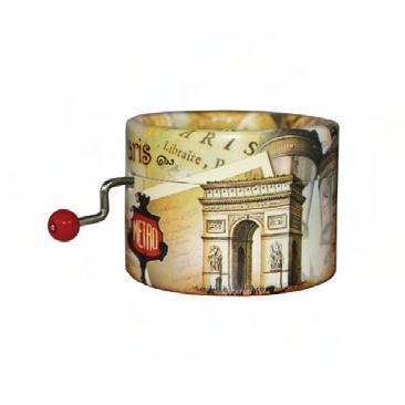 Boîte de résonance pour serinette