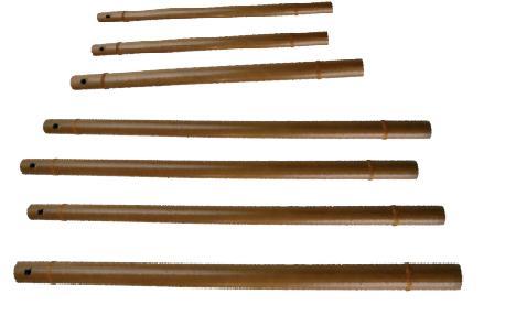 Flûte harmonique en bambou SI