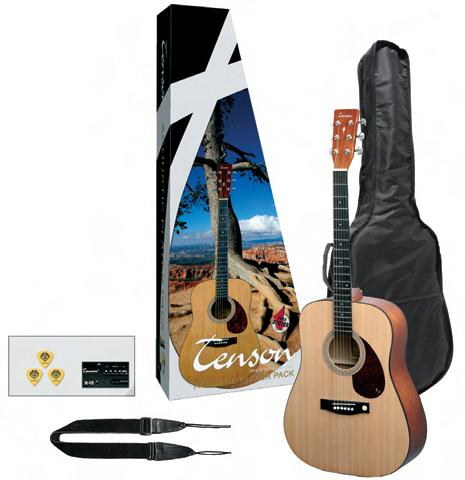 Guitare folk - pack complet