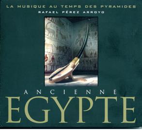 La musique aux temps des pyramides - cd