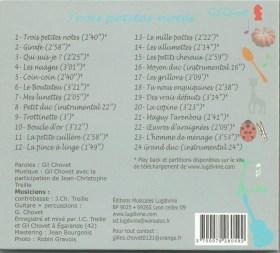 CD  Trois petites notes